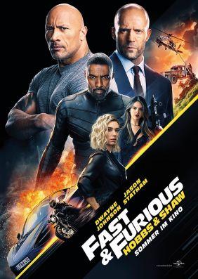 Plakatmotiv: Fast & Furious: Hobbs & Shaw (Imax)