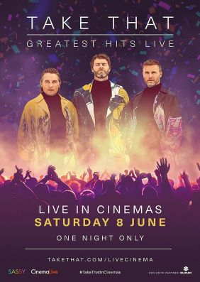 Plakatmotiv: Take That Greatest Hits Live 2019