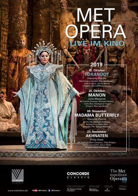 Plakatmotiv: Met Opera 2019/20: Turandot (Puccini)