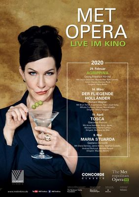 Plakatmotiv: Met Opera 2019/20: Agrippina (Händel)