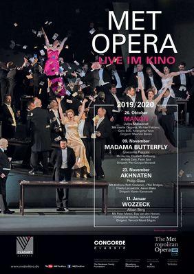 Plakatmotiv: Met Opera 2019/20: Manon (Massenet)