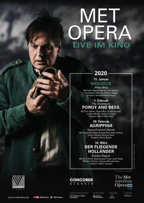 Plakatmotiv: Met Opera 2019/20: Wozzeck (Alban Berg)