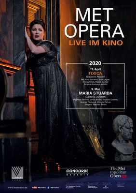 Plakatmotiv: Met Opera 2019/20: Tosca (Puccini)