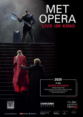 Plakatmotiv: Met Opera 2019/20: Maria Stuarda (Donizetti)