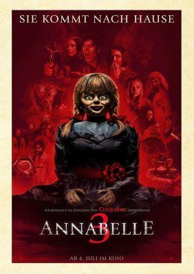 Plakatmotiv: Annabelle 3