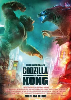 Plakatmotiv: Godzilla vs. Kong