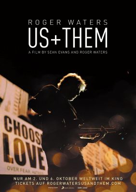 Plakatmotiv: ROGER WATERS  US + THEM