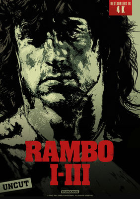 Plakatmotiv: Rambo 1-3: Triple Feature