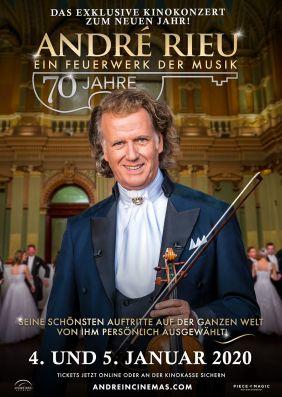 Plakatmotiv: André Rieu: 70 Jahre - Ein Feuerwerk der Musik
