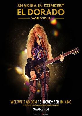 Plakatmotiv: Shakira In Concert: El Dorado World Tour
