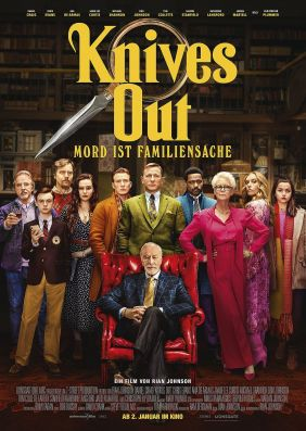 Plakatmotiv: Knives Out - Mord ist Familiensache