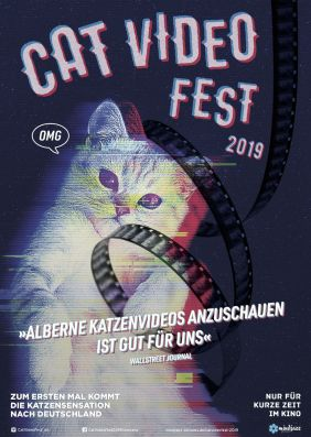 Plakatmotiv: CatVideoFest 2019