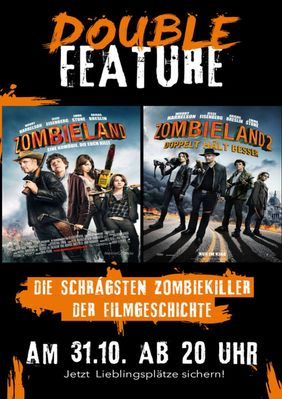 Plakatmotiv: Double Feature: Zombieland 1 +2