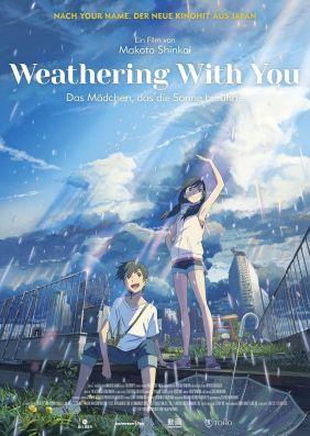 Plakatmotiv: Weathering With You - Das Mädchen, das die Sonne berührte