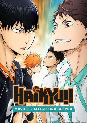 Plakatmotiv: Haikyu!! Movie 3 - Talent und Gespür