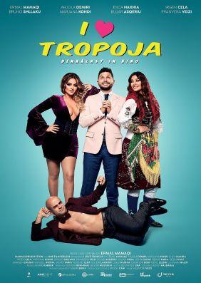 Plakatmotiv: I Love Tropoja