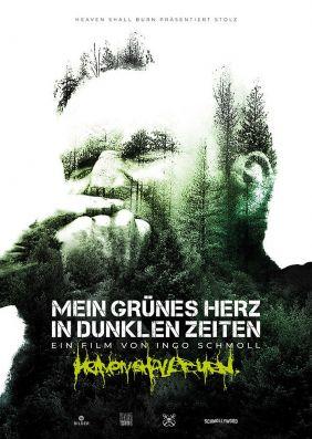 Plakatmotiv: Mein grünes Herz in dunklen Zeiten