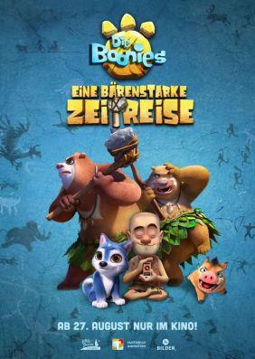 Plakatmotiv: Die Boonies - Eine bärenstarke Zeitreise