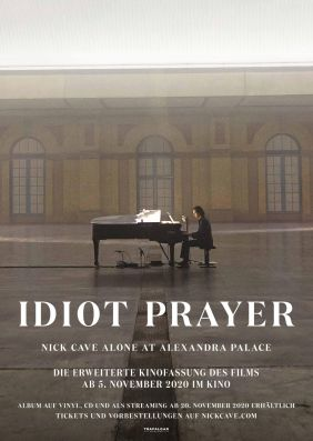 Plakatmotiv: Idiot Prayer - Nick Cave alone at Alexandra Palace