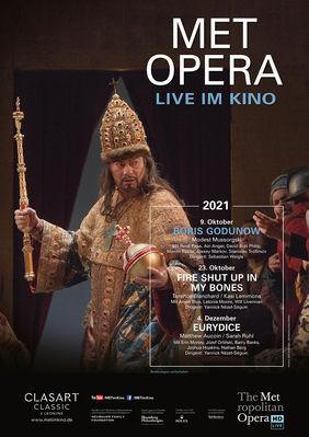Plakatmotiv: Met Opera 2021/22: Modest Mussorgski BORIS GODUNOW