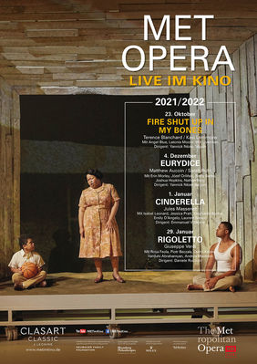 Plakatmotiv: Met Opera 2021/22: Terence Blanchard FIRE SHUT UP IN MY BONES