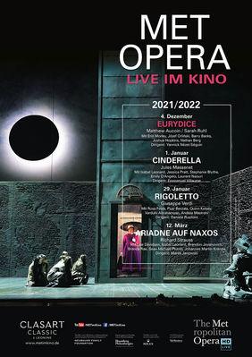 Plakatmotiv: Met Opera 2021/22: Matthew Aucoin EURYDICE