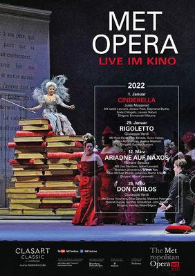 Plakatmotiv: Met Opera 2021/22: Jules Massenet CINDERELLA