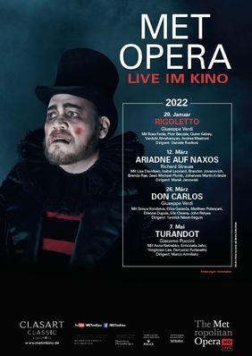 Plakatmotiv: Met Opera 2021/22: Giuseppe Verdi RIGOLETTO