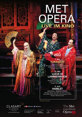 Plakatmotiv: Met Opera 2021/22: Giacomo Puccini TURANDOT