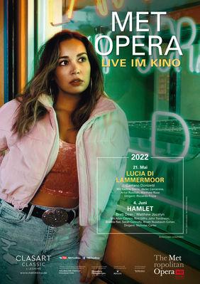 Plakatmotiv: Met Opera 2021/22: Gaetano Donizetti LUCIA DI LAMMERMOOR