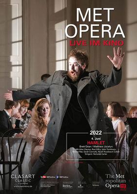 Plakatmotiv: Met Opera 2021/22: Brett DEAN HAMLET