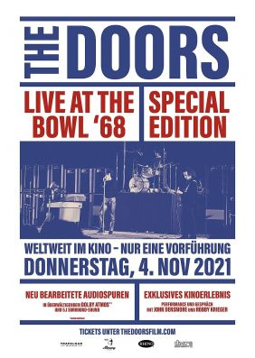 Plakatmotiv: The Doors: Live at the Bowl '68 Sonderausgabe