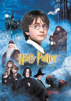 Plakatmotiv: Harry Potter und der Stein der Weisen